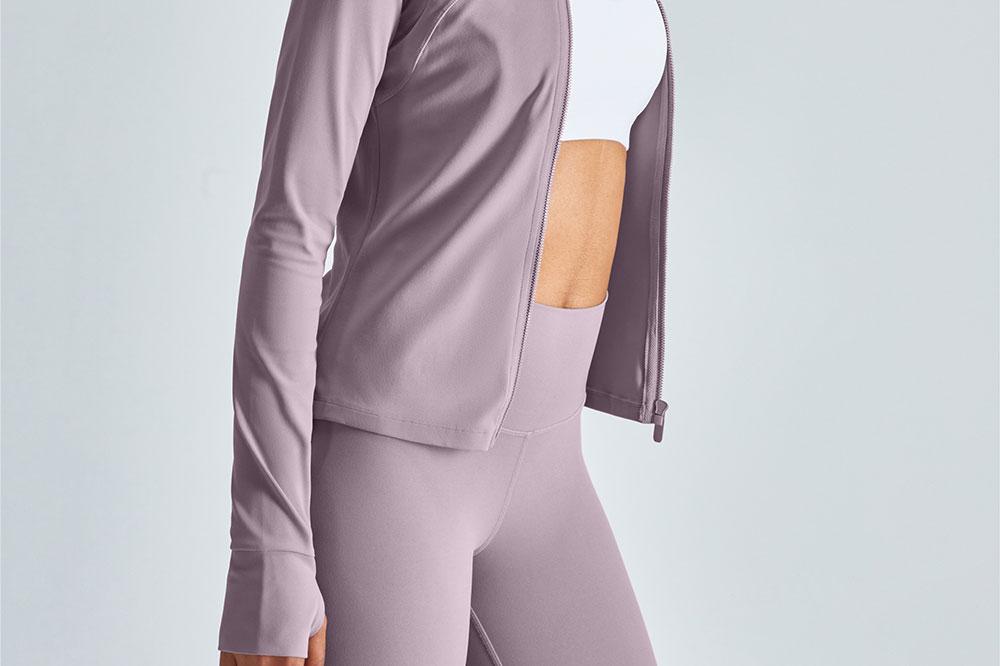 Women's fitness wear long sleeves by HerGymClothing