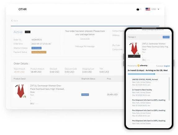 AfterShip 成为 店匠SHOPLAZZA 独家物流跟踪技术支持
